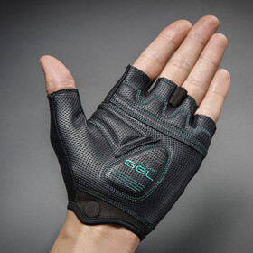 GripGrab ProGel Short Cycling Gloves Women Green